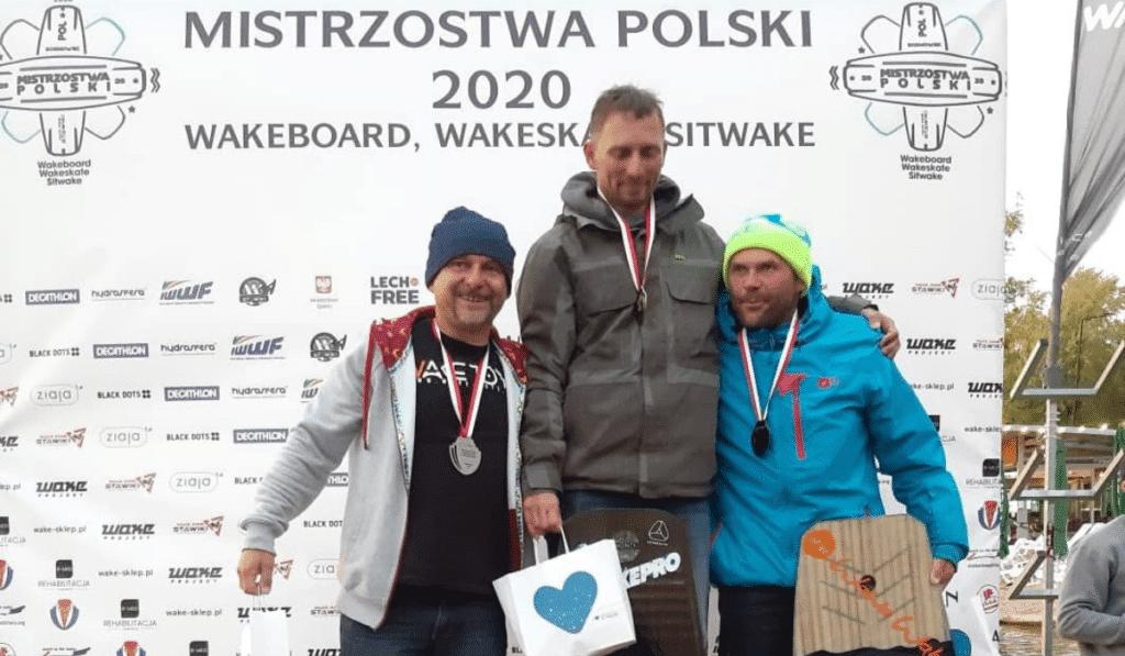 Damian Kujawa, prezes Interstal s.a, wicemistrzem Polski w Wakeboard