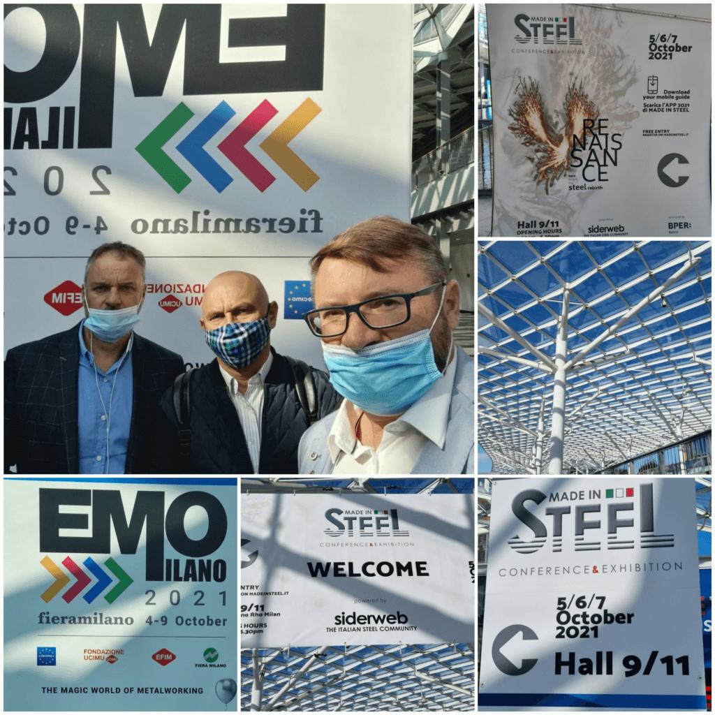 INTERSTAL SA bierze udział w światowych targach EMO MILANO 2021